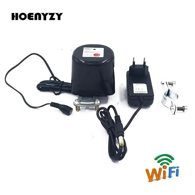Smart Wi-fi Siłownik do tradycyjnych zaworów woda, gaz  1/2 3/4 DIN15,DIN20