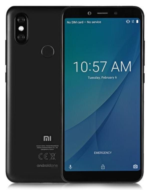 Xiaomi Mi A2 4/32GB czarny za 749 zł