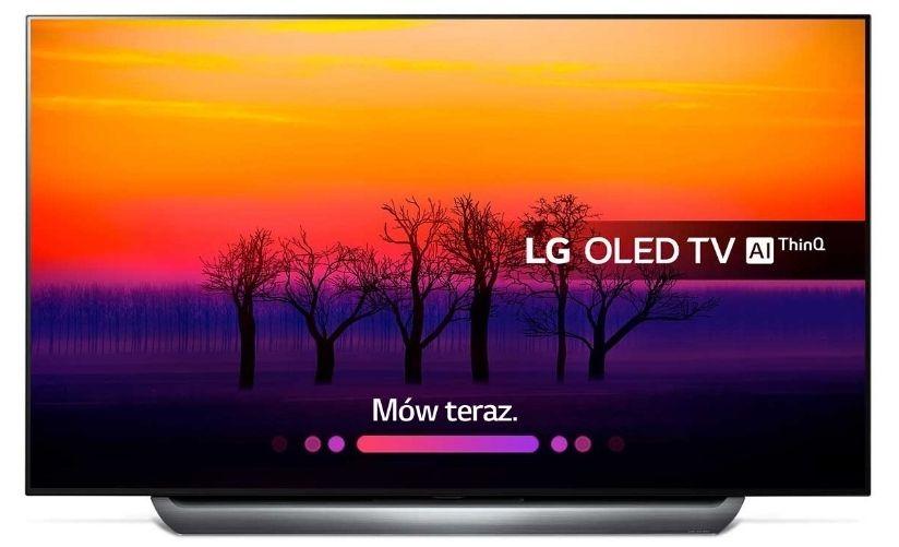 LG OLED 55 65 z serii 8 najtaniej