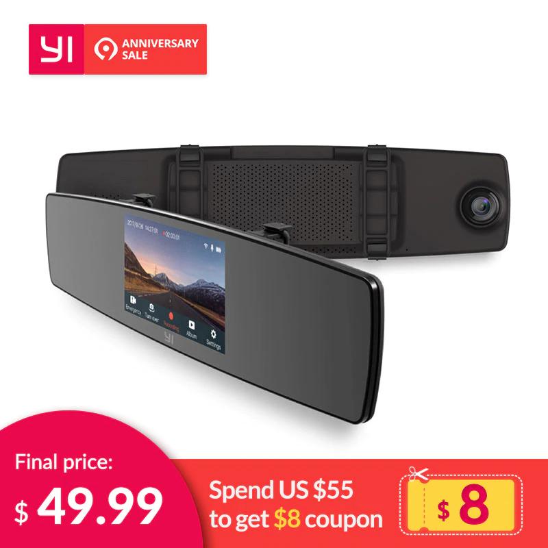 Xiaomi Yi Mirror Dash Cam z wysyłką z Hiszpanii