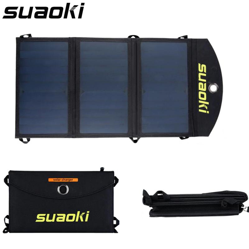 Zestawienie ładowarek solarnych od Suaoki.