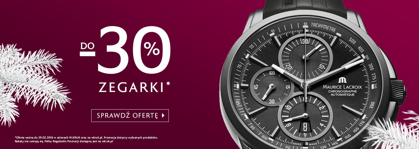 Do -70% na biżuterię, do -30% na zegarki @ W.Kruk