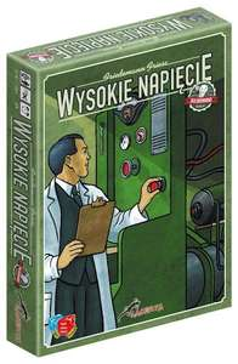 Wysokie Napięcie (edycja doładowana) - gra planszowa