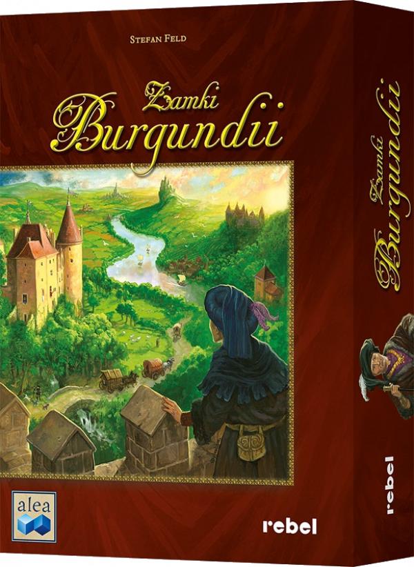 Zamki Burgundii gra planszowa - cdp.pl / merlin.pl