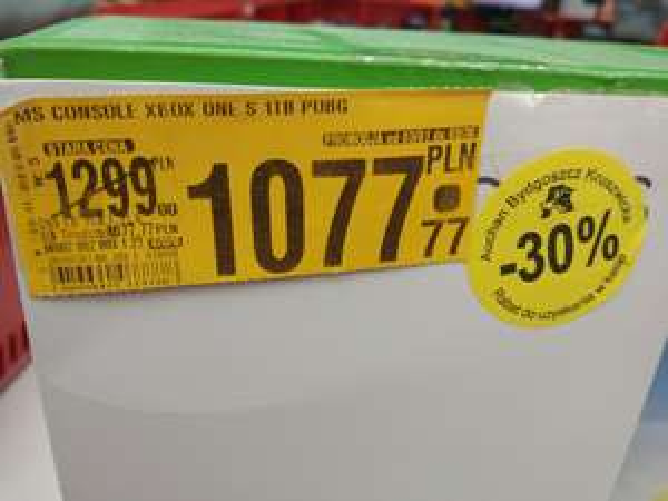 Xbox one S 1TB Pubg @Auchan (możliwe 654.44PLN)