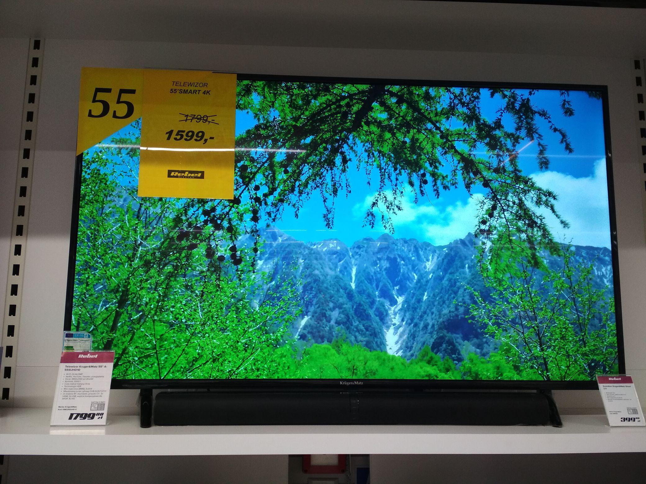"Telewizor 55"" 4K Smart Kruger &Matz"