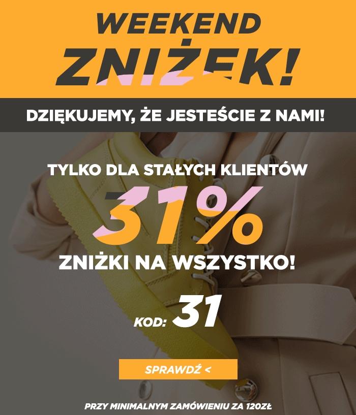 31% zniżki w Born2Be przy MWZ 120 pln