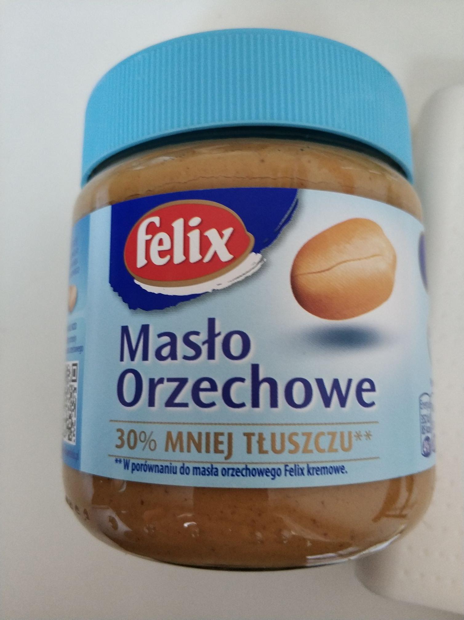 Alma Krakow. Masło orzechowe Felix 350g. 30% mniej tłuszczu