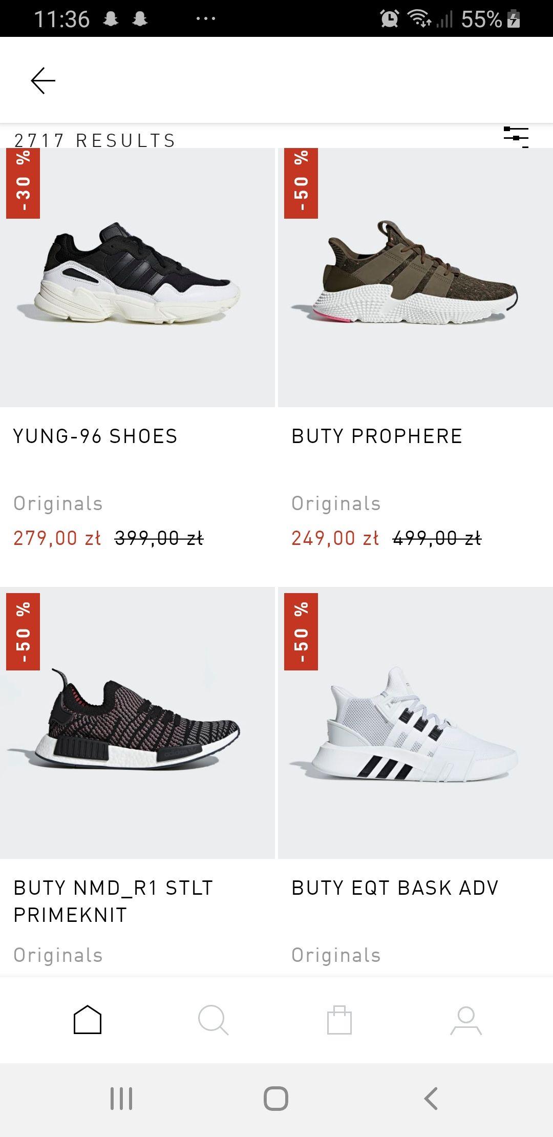 Buty Adidas -50%