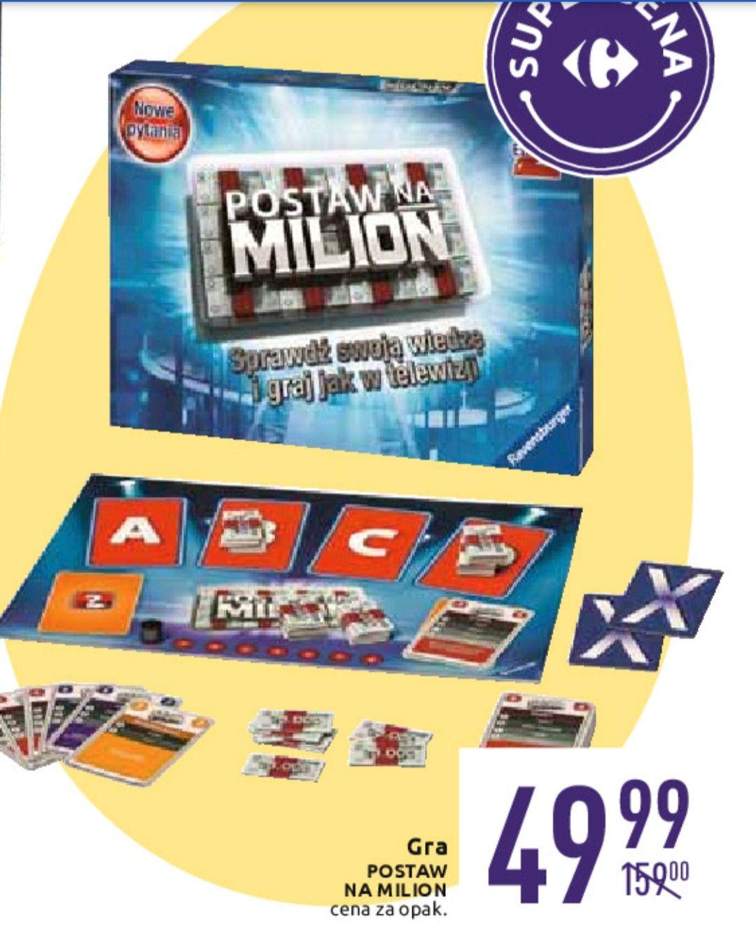 Gra Postaw na milion. Edycja II @Carrefour