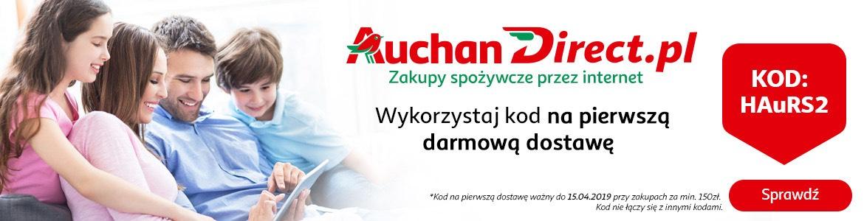 Darmowa dostawa z Auchan Direct!