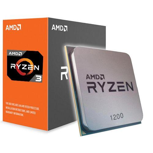Procesor AMD Ryzen 3 1200. Sferis