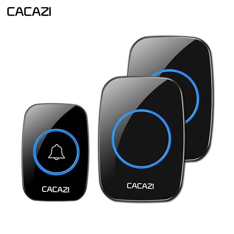CACAZI  Dual dzwonek do drzwi + przycisk