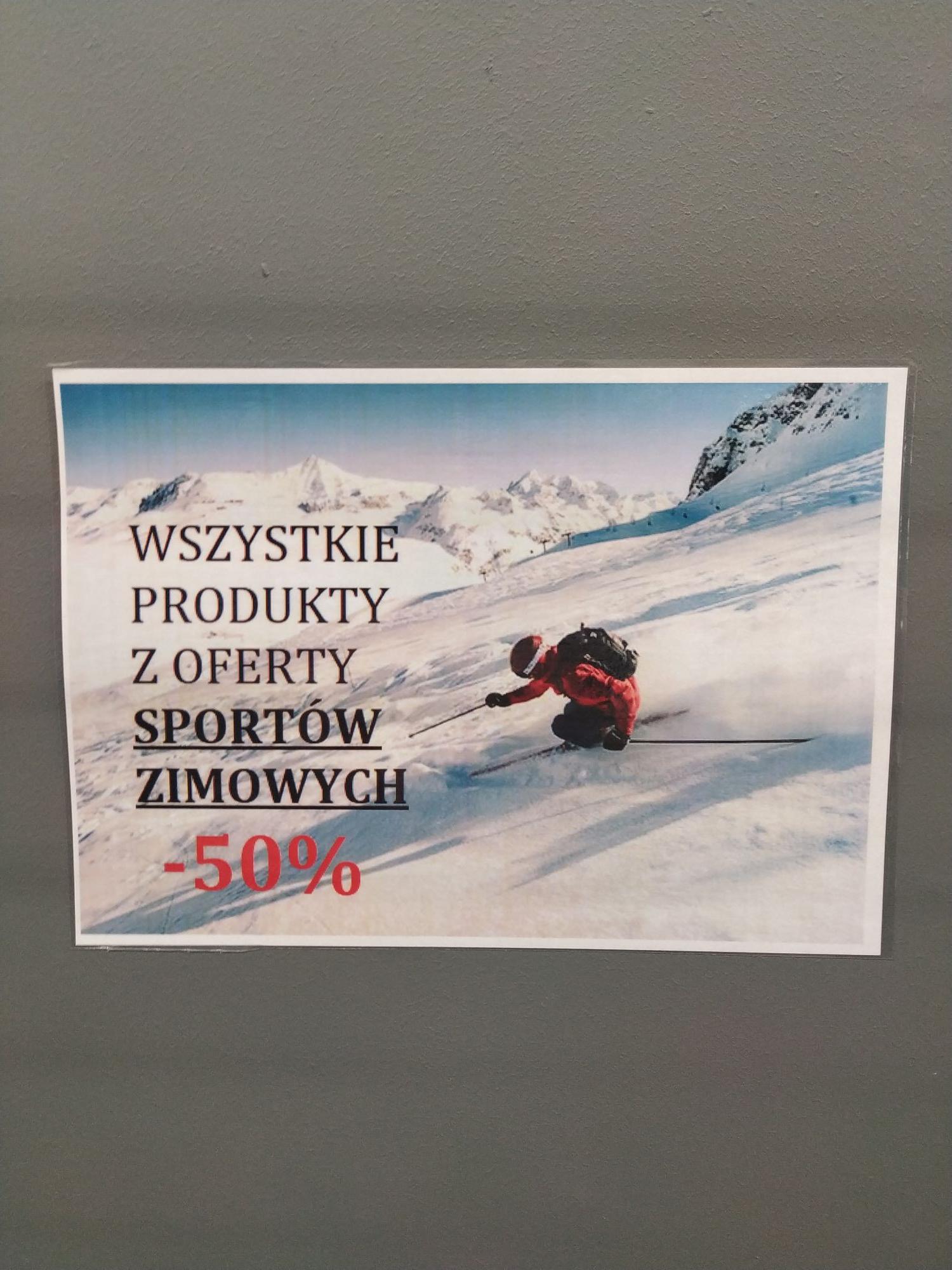 Decathlon -50% na sporty zimowe (Wrocław Korona)
