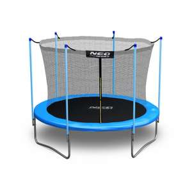 Neo-Sport, trampolina ogrodowa z siatką wew. 312cm