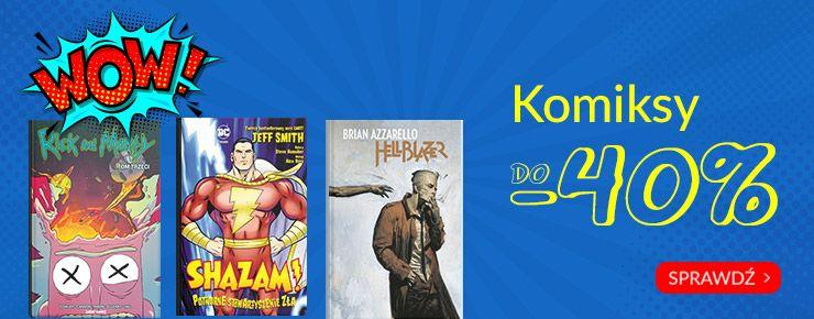Księgarnia Livro - rabat do 40% na komiksy