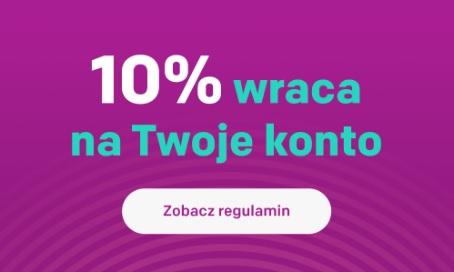 Traficar - zwrot 10% kwoty przejazdu