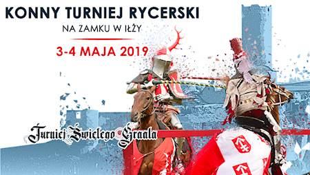 Konny Turniej Rycerski na zamku w Iłży. 3-4 maja 2019