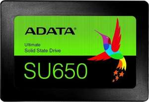Dysk SSD ADATA Ultimate SU650 960GB SATA3 (0,416 zł / GB)