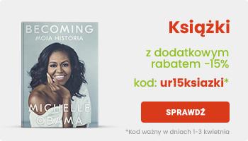 -15% na książki z okazji urodzin Merlin.pl