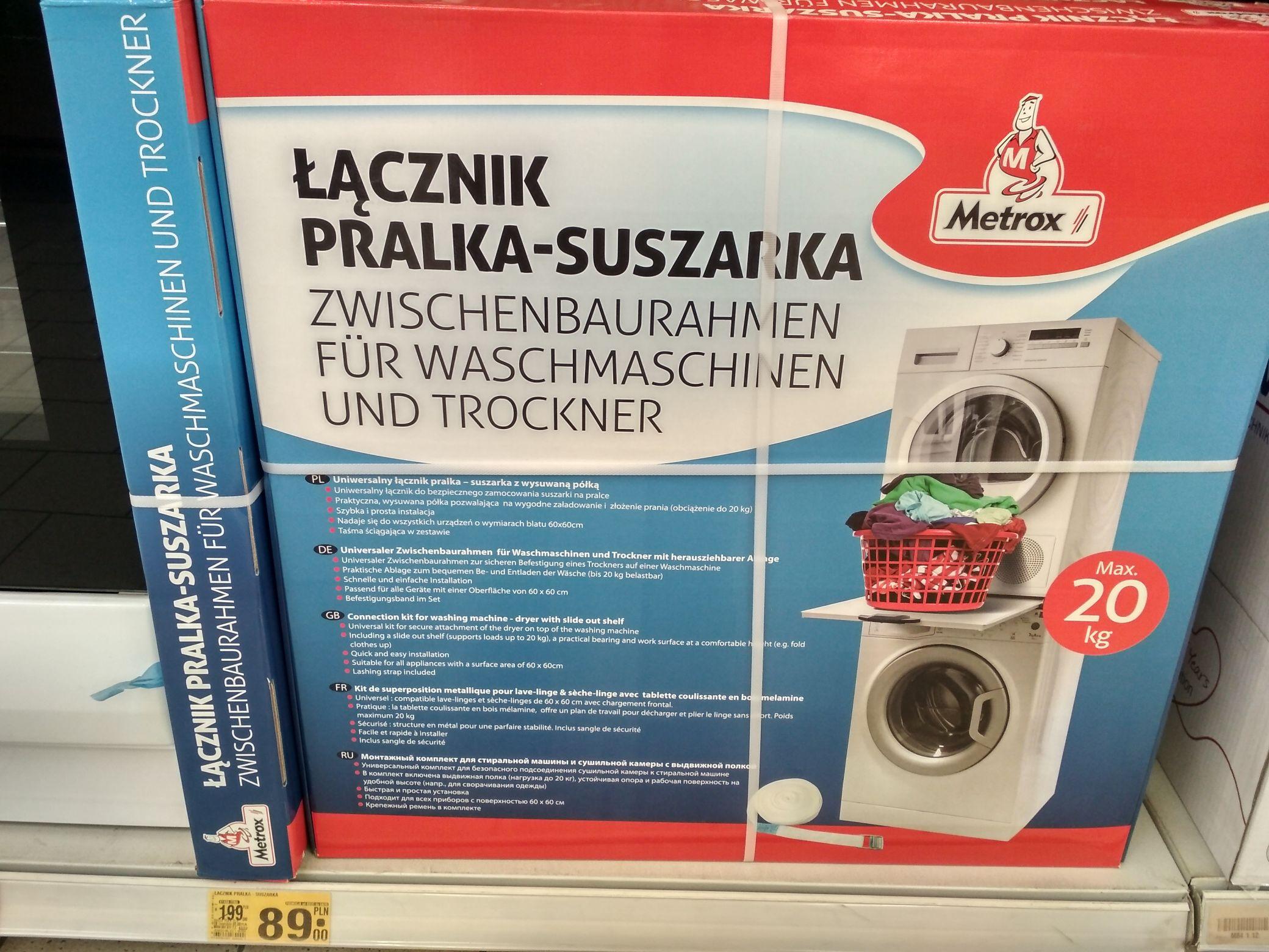 Łącznik pralka - suszarka Auchan M1 Zabrze
