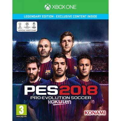 Pro Evolution Soccer 2018 Legendary Edition (XOne) w konsoleigry.pl