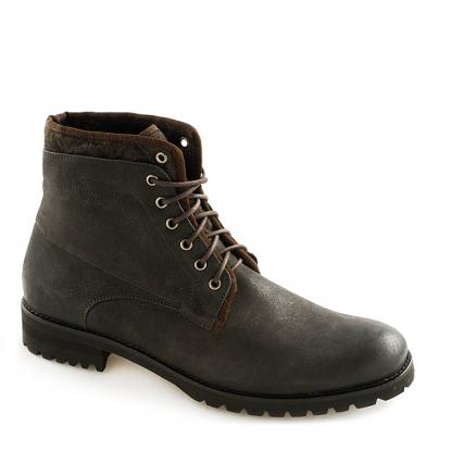 Skórzane wysokie buty męskie  za 239zł (obniżka z 399,90zł) @ Ryłko