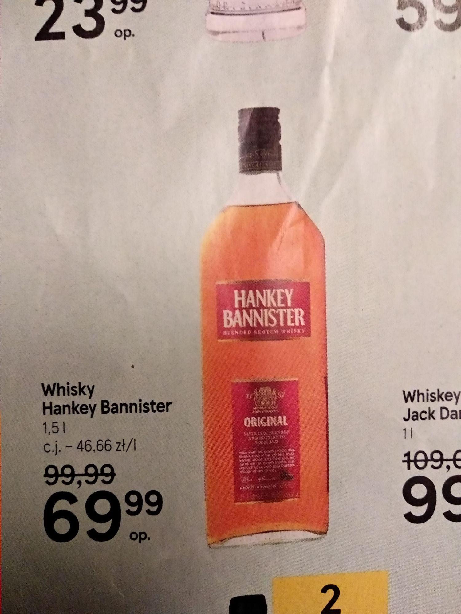 Whisky Kanister Hankey Bannister 1.5l Tesco