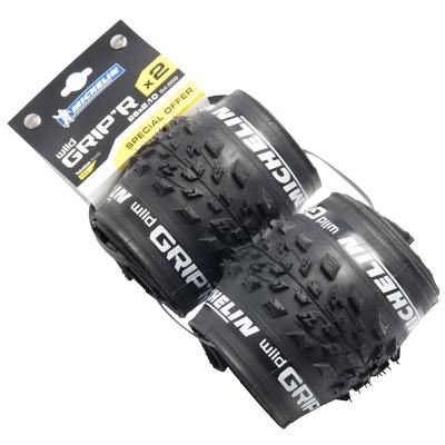 Komplet 2 opon MTB (zwijanych) Michelin MTB WILD GRIP'R 26X2,10 (-75%) @ Decathlon