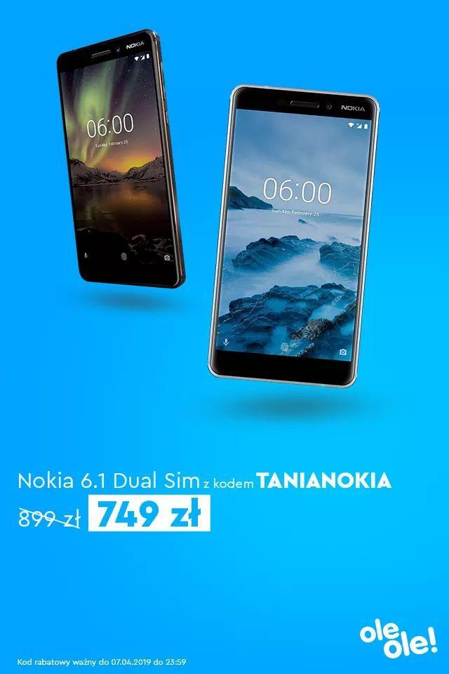 Nokia 6.1 Dual SIM za 749 z 899 w OleOle