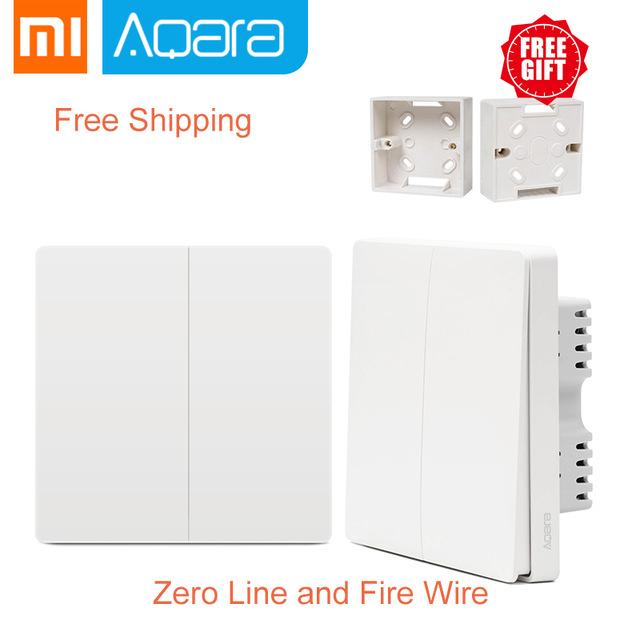 Włączniki Aqara Smart Light Control Zero Line 2 klawiszowy
