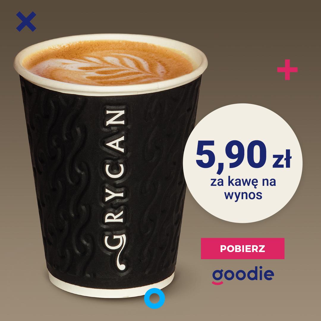 5,90 zł za kawę na wynos w Grycan