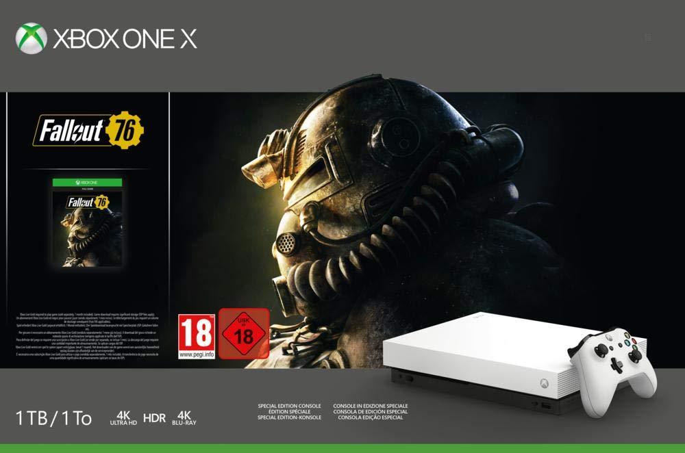 Konsola Xbox One X Fallout 76 microsoft