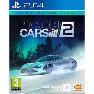 Project Cars 2 – Limited Edition Steelbook PS4
