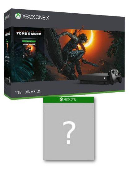 Konsola Xbox One X + Shadow of the Tomb Raider + gra-niespodzianka