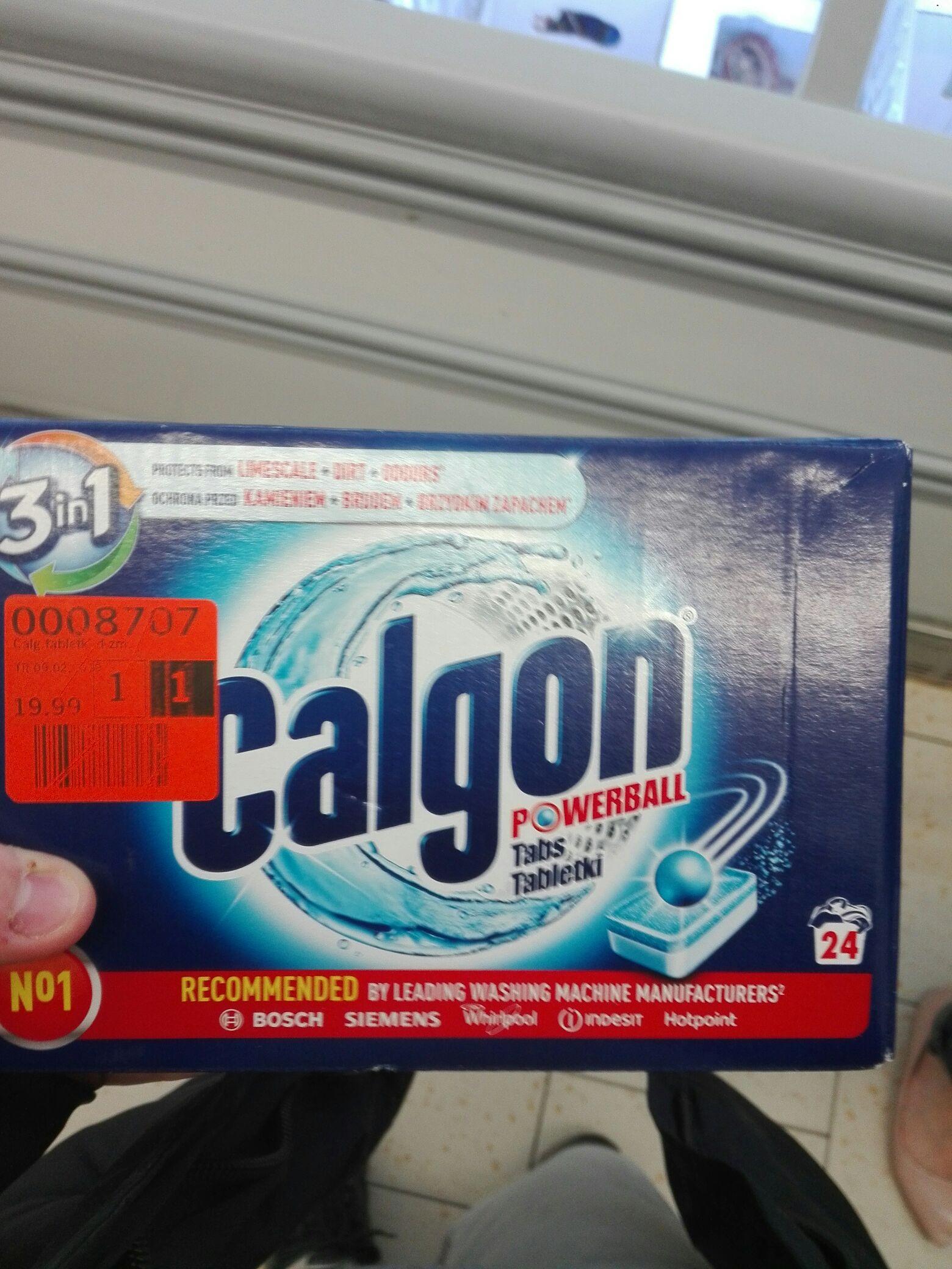 Tabletki do zmiekczania wody calgon, lidl