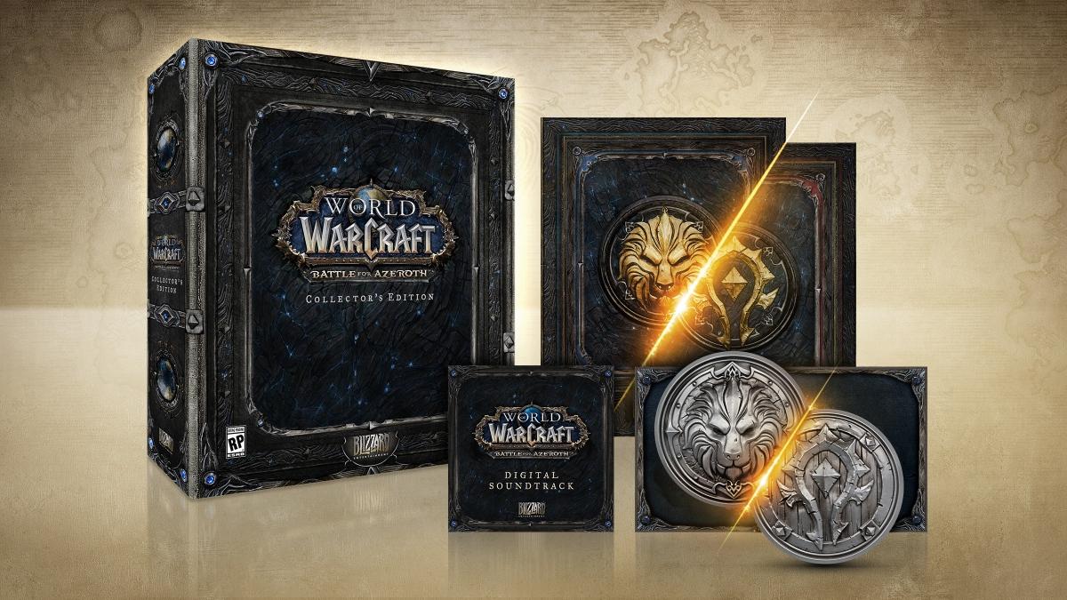 World of Warcraft Battle For Azeroth Edycja kolekcjonerska PC