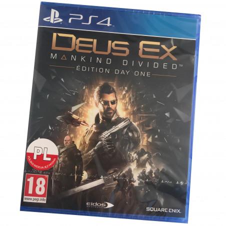 Deus Ex: Rozłam Ludzkości PL / PS4
