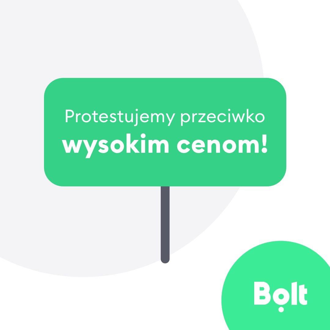 Zniżka -30 zł na pierwszy przejazd Bolt (Taxify) - z okazji strajku