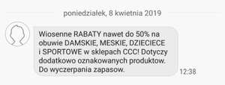 Rabat do 50% w CCC
