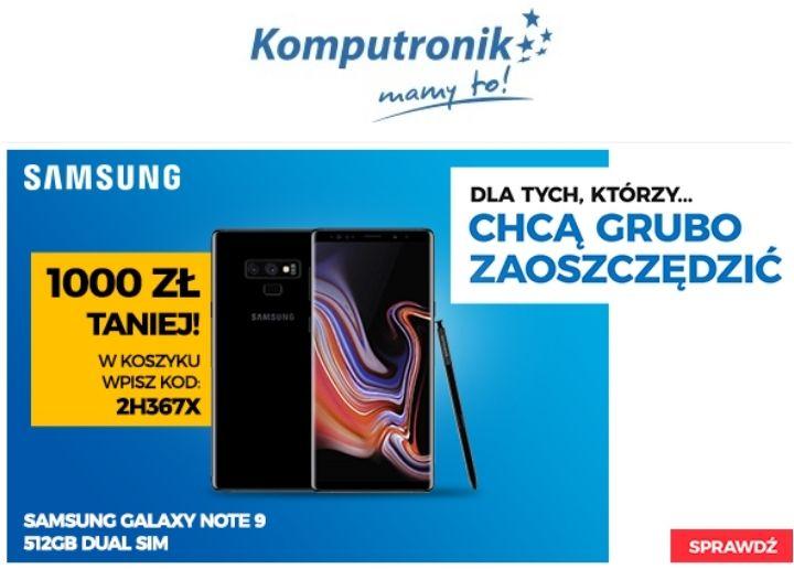 Samsung Galaxy Note 9 512GB Dual SIM Midnight Black (N960)