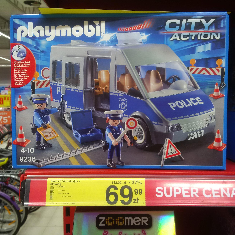 Playmobil samochód policyjny