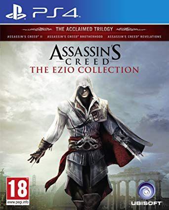 Assasin's Creed The Ezio Colection PL / PS4