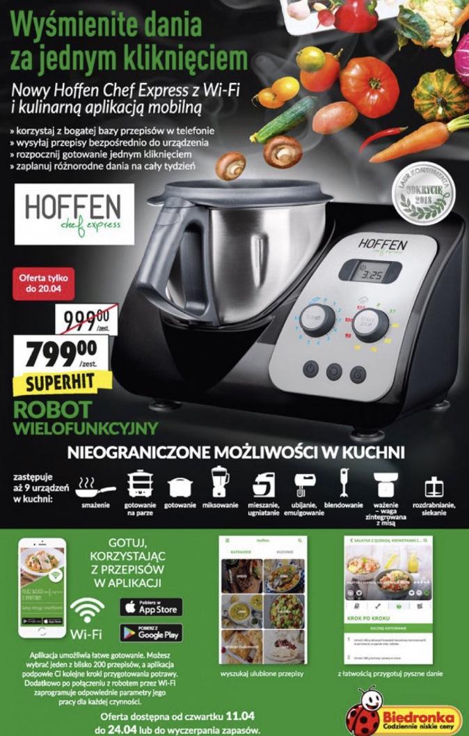 Biedromix - Hoffen Chef Express WiFi ponownie w Biedronce