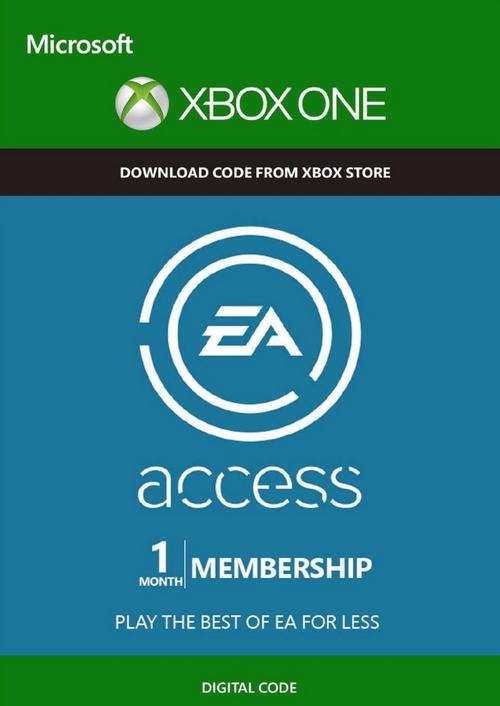 EA Access - 1 miesiąc. Xbox one.