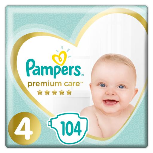 PAMPERS Pieluszki Premium Care 4 Maxi 104x3