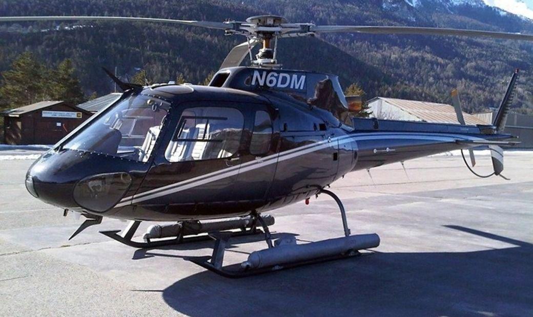 Tani helikopter w promocji (Eurocopter AS350BA)