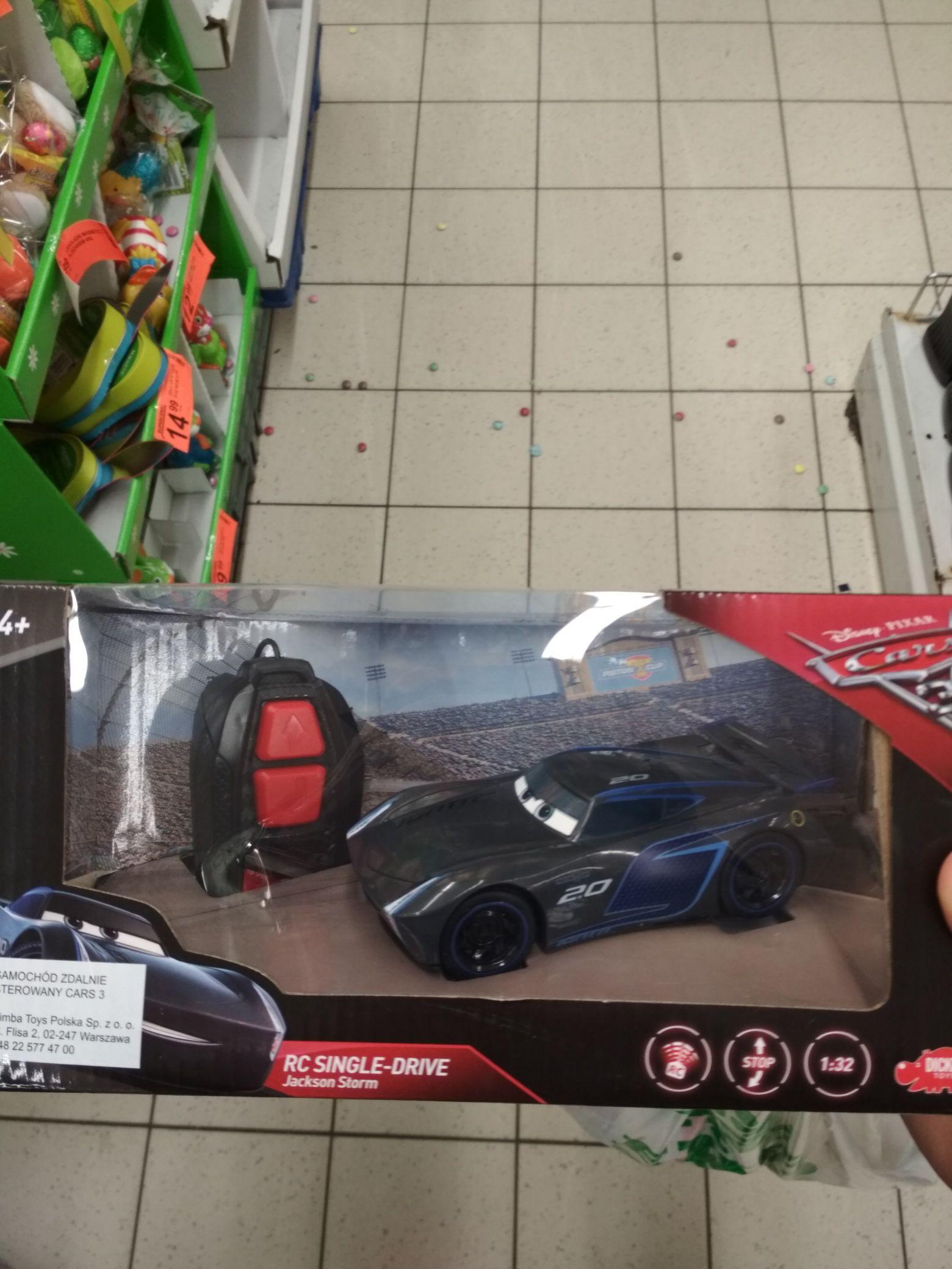 Biedronka - samochód zdalnie sterowany Auta
