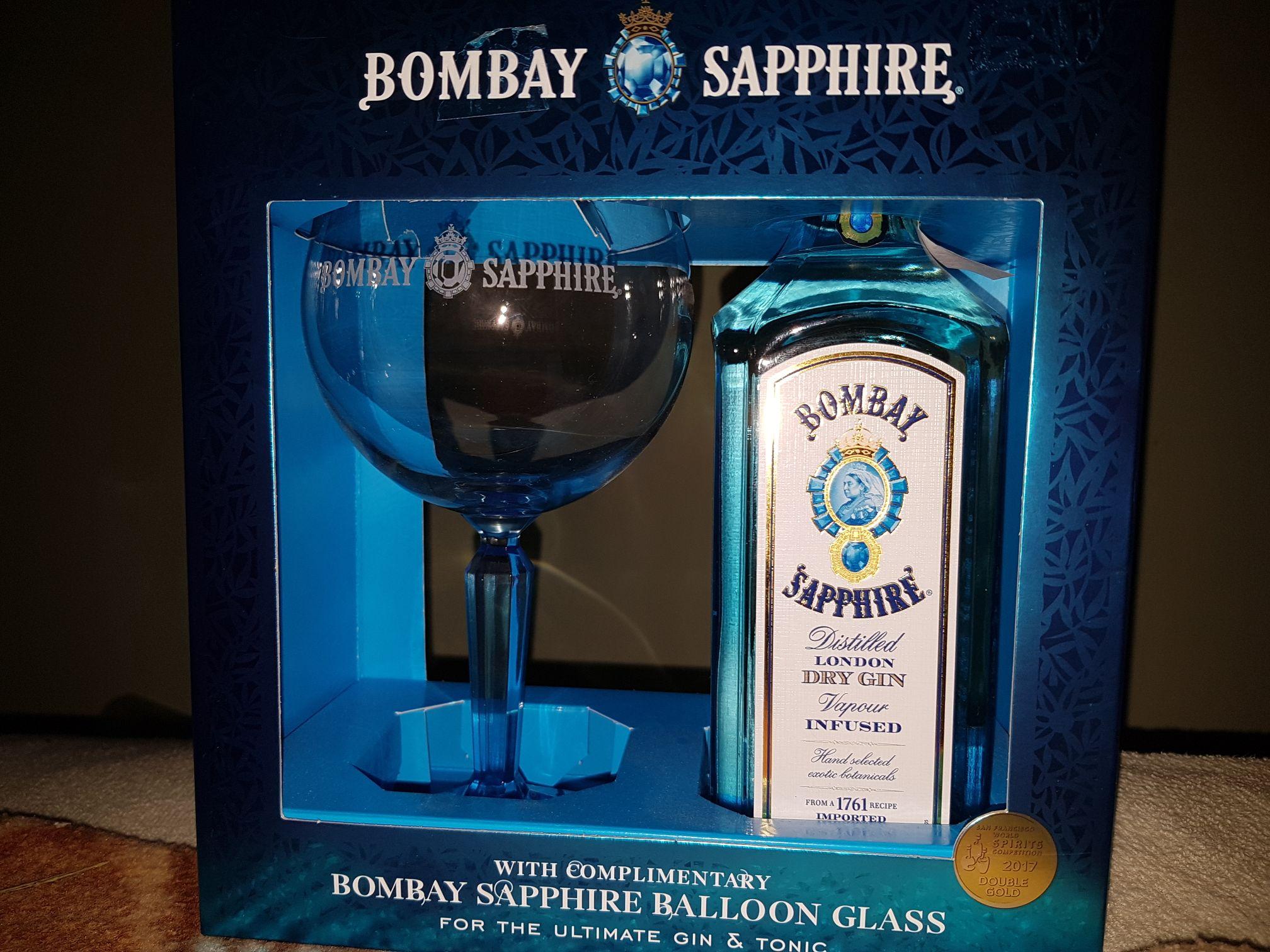 Gin Bombay Sapphire 0.7l Auchan