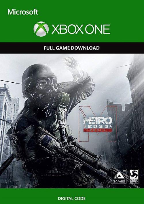 Gry: Metro Redux i Metro Last Light Redux (12,61zł). Xbox One. MOŻLIWE 15zł za obie gry na Ms store Argentyna!